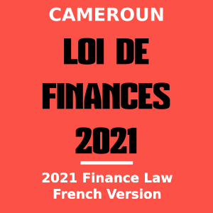 Telecharger Loi De Finance 2021_Version Francais
